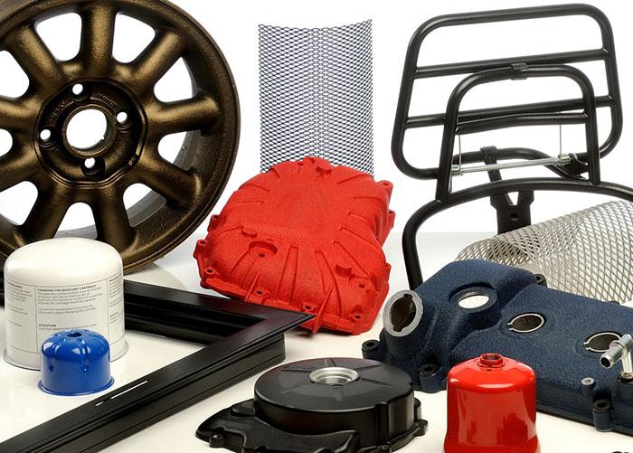 Verniciatura per componenti d'auto